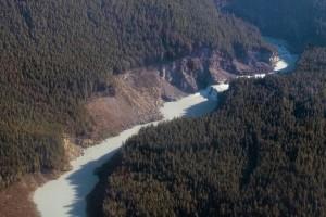 Waterfall, Coastal Alaska south of Cordova