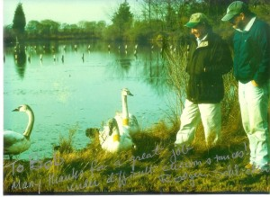 Rodger and swans