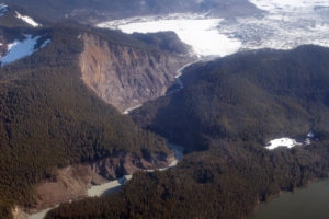 The Bering River rages through the coast range, backed by glaciers, choked with salmon, and Wild as all-get-out.