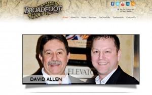 David Allen and Jerod Broadfoot