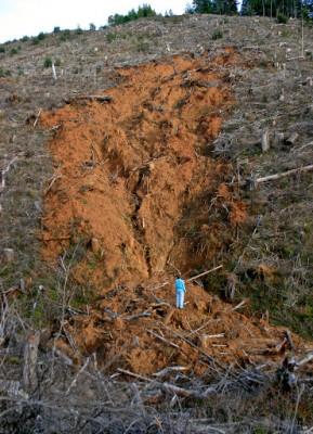 Seneca landslide
