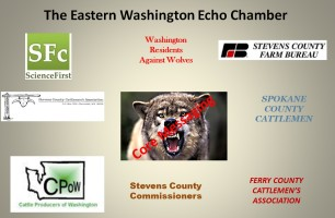 Eastern Washington Anti-Wolf Echo Chamber