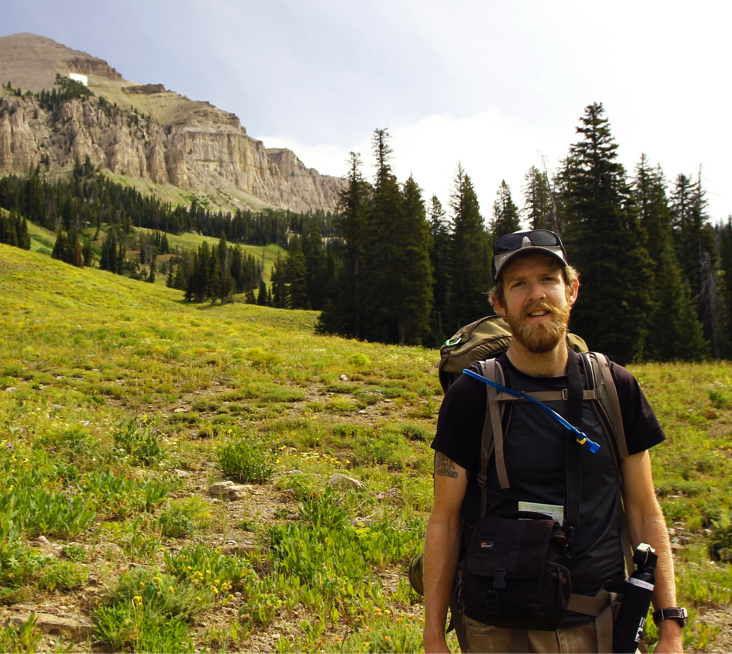 Rory Isbell, at the Teton National Park (2014)