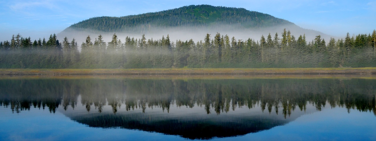 Breathtaking photo of the Tongass National Forest. Photo courtesy David Beebe.