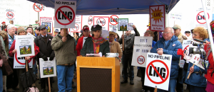 No LNG Rally in Salem, OR 2008