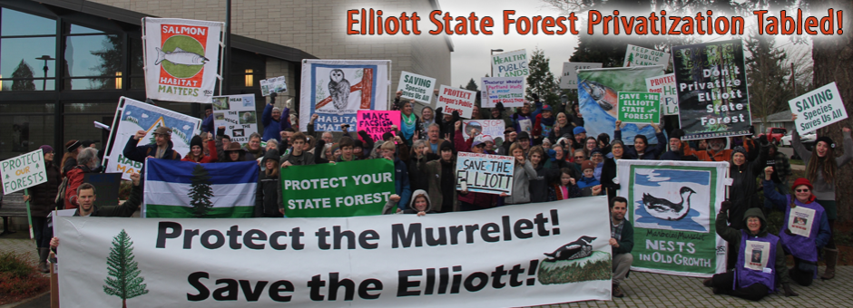 Elliott State Forest Privatization Tabled!