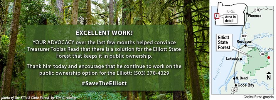 Take Action for the Elliott!