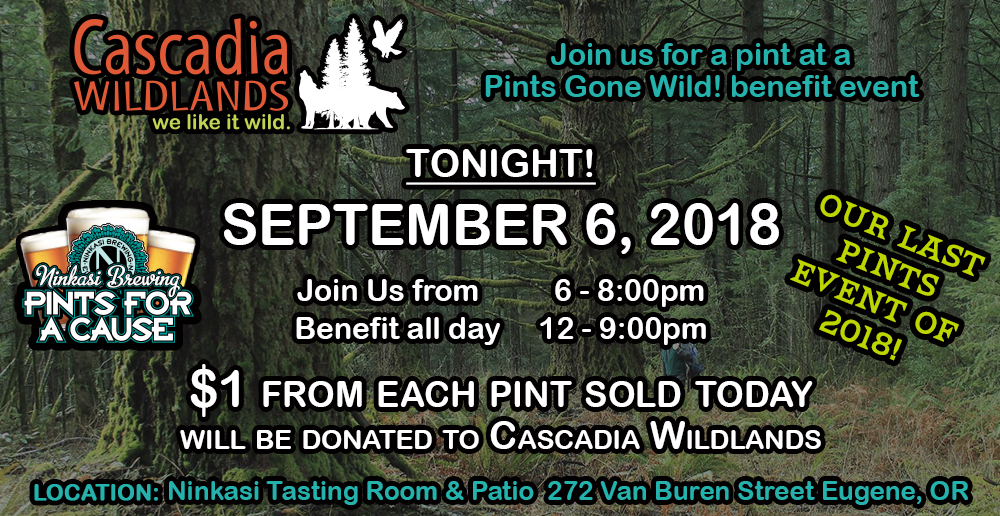 Join Us for the Last Pints Event of 2018! — September 6
