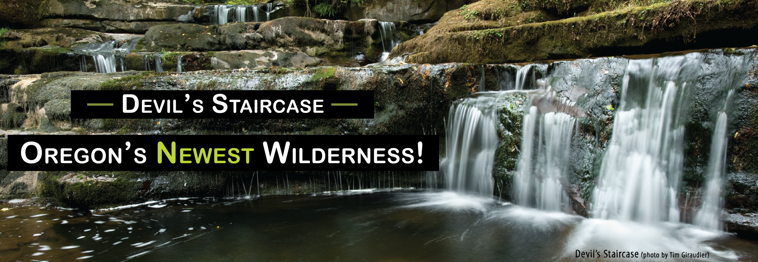 Oregon Wilderness Act signed into law by the president.