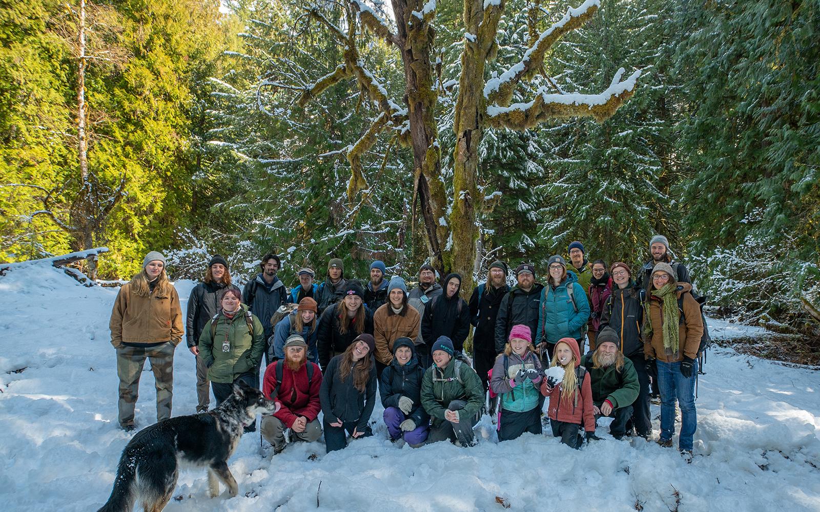 INTERN-al UPDATE: A Snowy Field Check in Flat Country