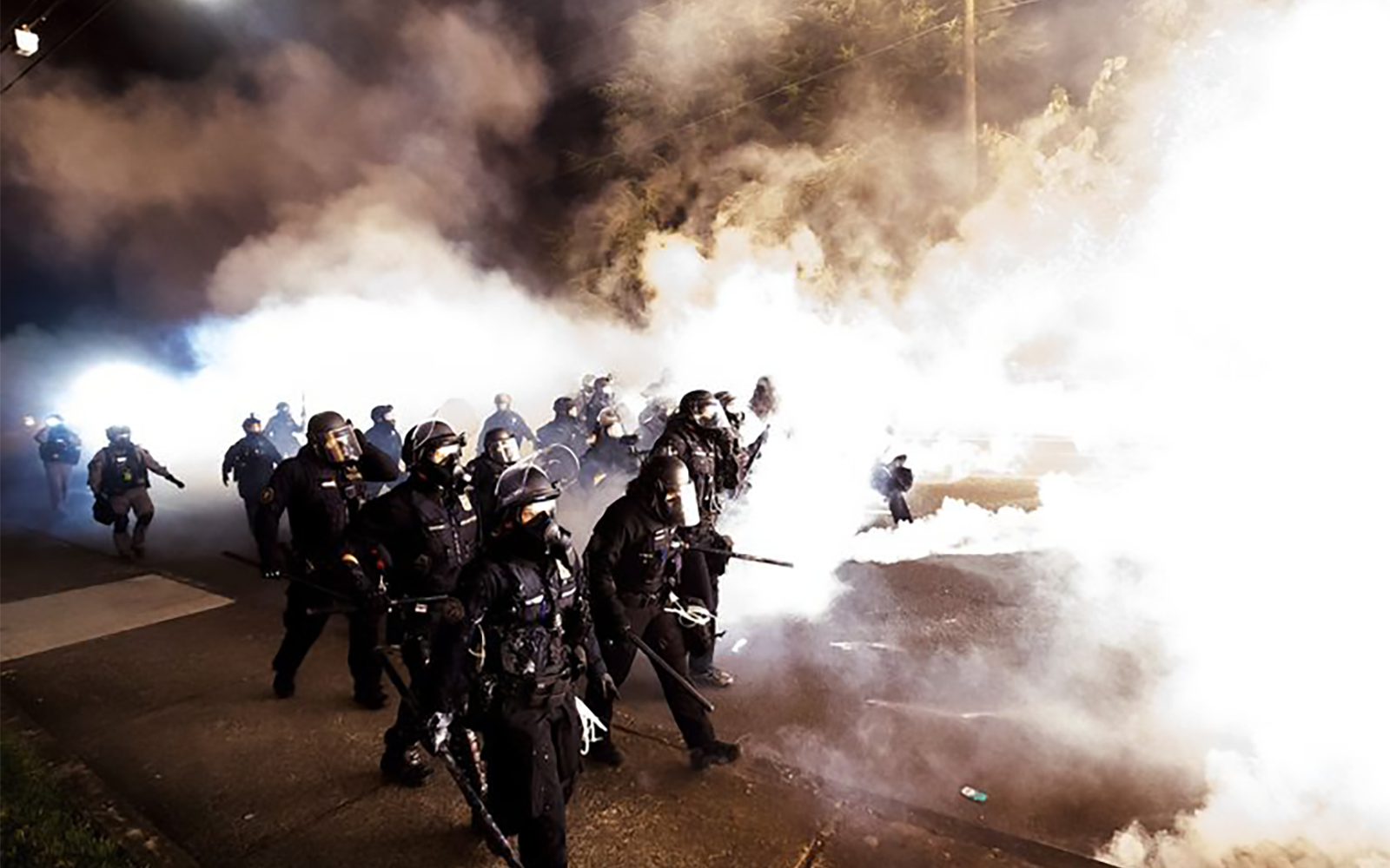 Lawsuit accuses Homeland Security of violating environmental law with Portland tear gas deployment