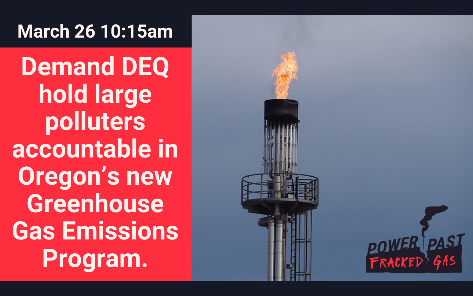 No Free Pass for Dirty Fracked Gas!