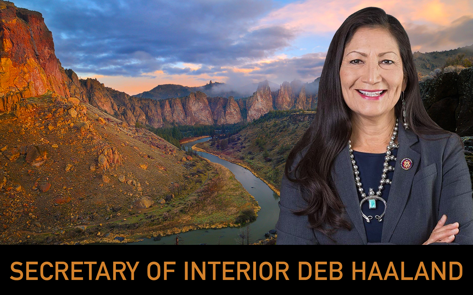 Celebrating the Historic Confirmation of Secretary Haaland